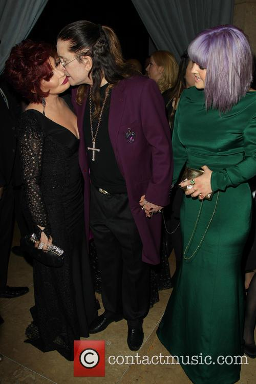 Sharon Osbourne, Ozzy Osbourne and Kelly Osbourne 3