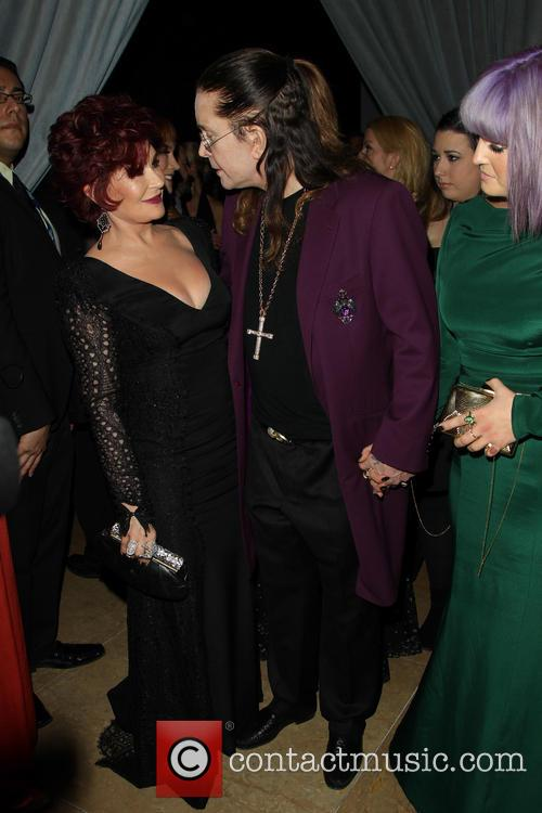 Sharon Osbourne, Ozzy Osbourne and Kelly Osbourne 4