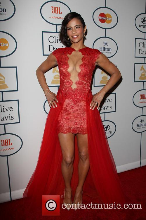 Paula Patton, The Beverly Hilton Hotel, Grammy, Beverly Hilton Hotel