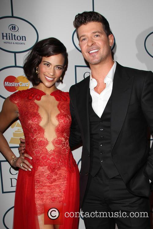 Robin Thicke, Grammy Gala Party