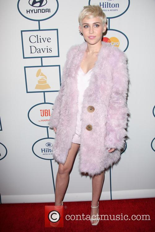 Miley Cyrus, The Beverly Hilton Hotel, Grammy, Beverly Hilton Hotel