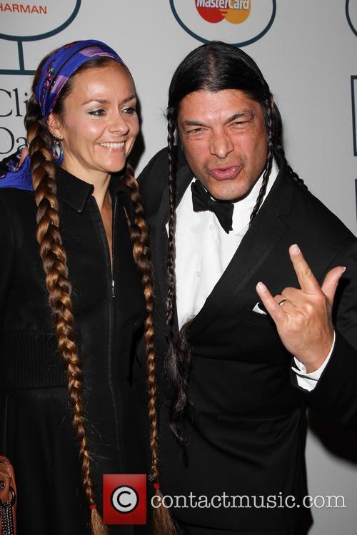 Robert Trujillo and Chloe Trujillo 1