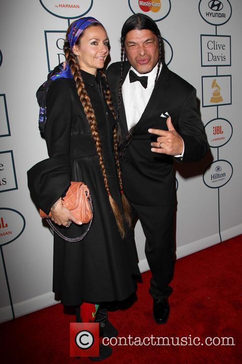 Robert Trujillo, Chloe Trujillo, The Beverly Hilton Hotel, Grammy, Beverly Hilton Hotel