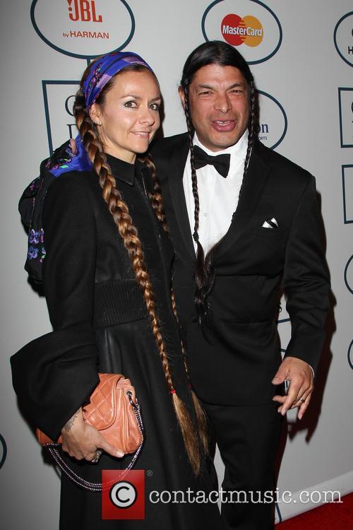Chloe Trujillo and Robert Trujillo 2