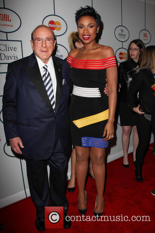 Clive Davis, Jennifer Hudson, The Beverly Hilton Hotel, Grammy, Beverly Hilton Hotel