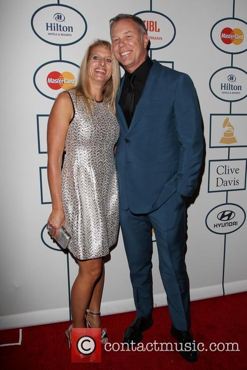 James Hetfield and Francesca Hetfield 2