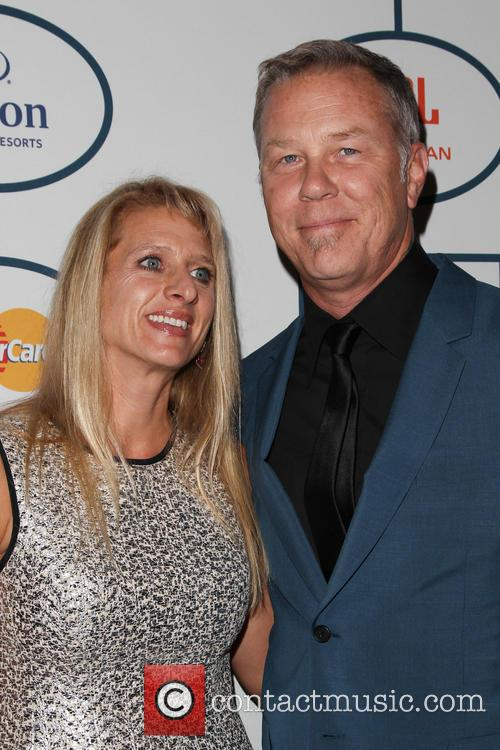 James Hetfield and Francesca Hetfield 1