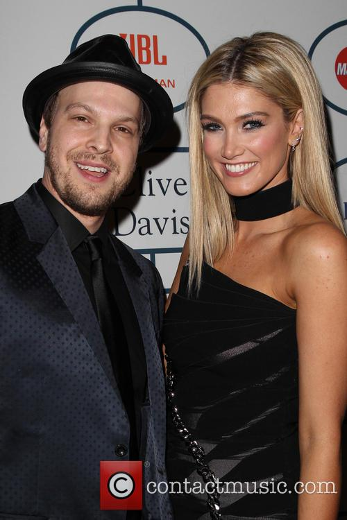 Gavin Degraw, Delta Goodrem, The Beverly Hilton Hotel, Grammy, Beverly Hilton Hotel