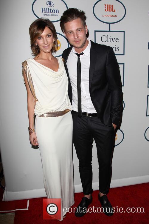 Clive Davis, Genevieve Tedder and Ryan Tedder 4