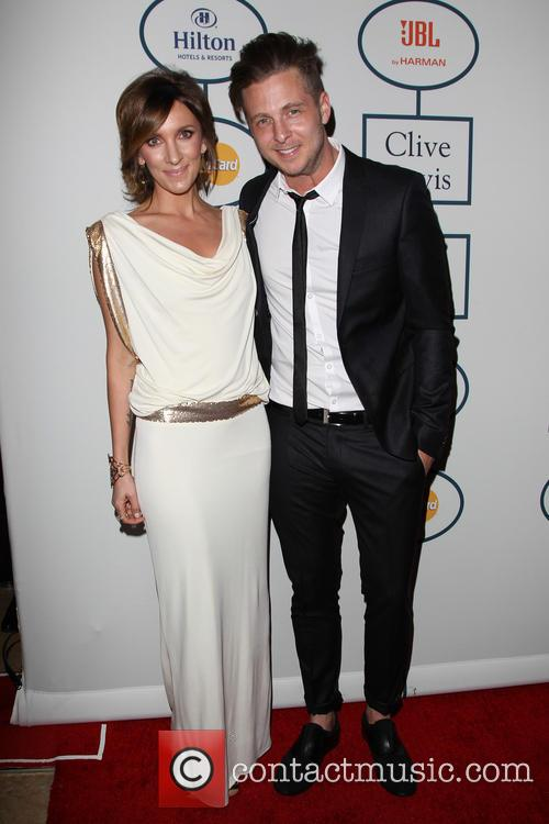 Clive Davis, Genevieve Tedder and Ryan Tedder 6