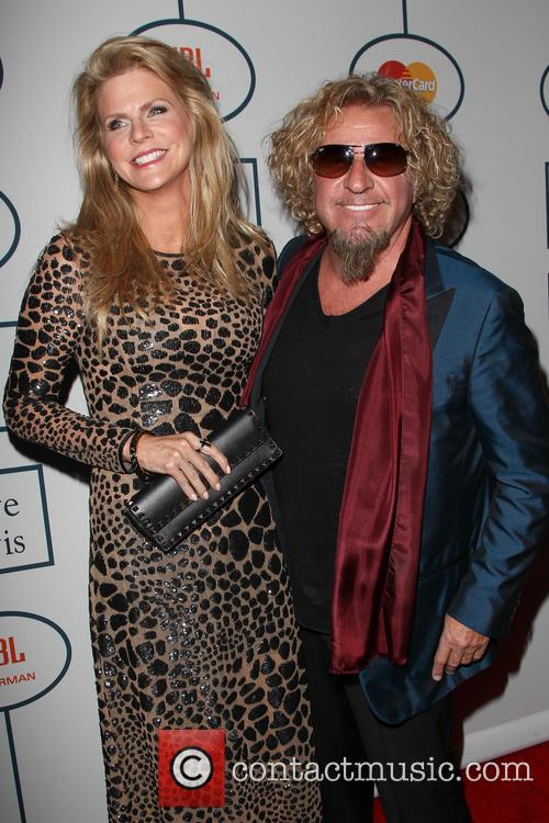 Kari Hagar and Sammy Hagar 2