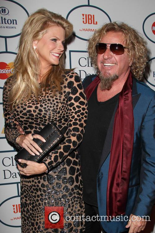 Kari Hagar and Sammy Hagar 1