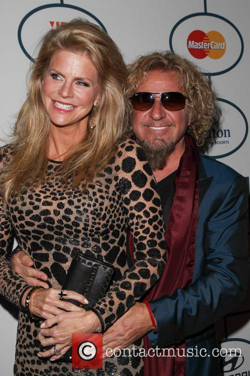Kari Hagar and Sammy Hagar 4