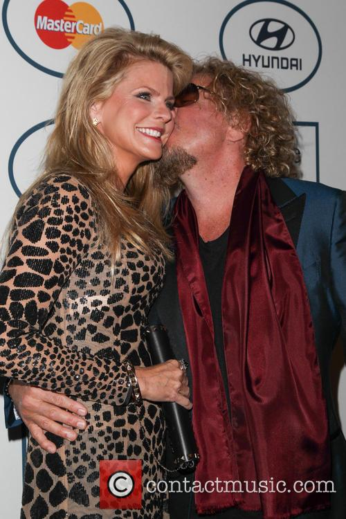 Kari Hagar and Sammy Hagar 8