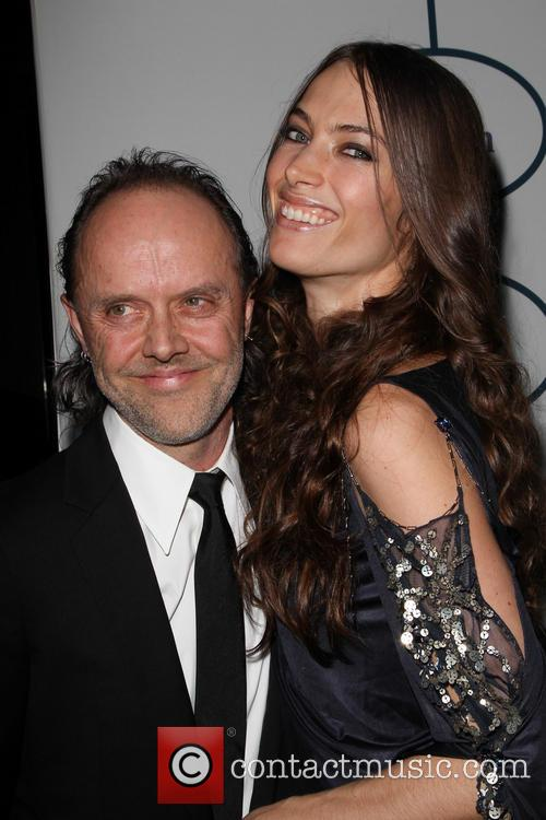 Lars Ulrich and Jessica Miller 3