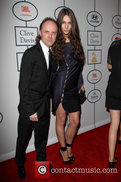 Lars Ulrich and Jessica Miller 4