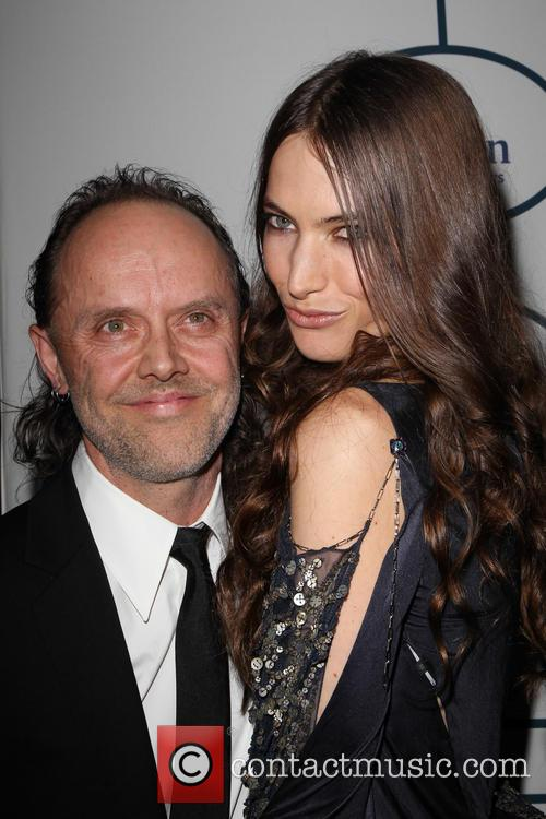 Lars Ulrich and Jessica Miller 5