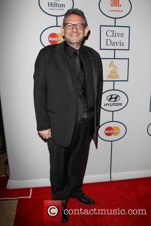 Clive Davis, Lucian Grainge, The Beverly Hilton Hotel, Grammy, Beverly Hilton Hotel