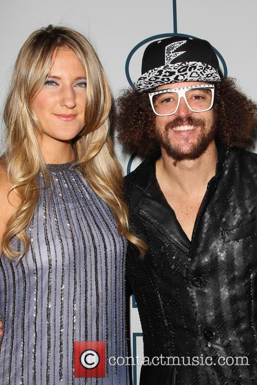 Victoria Azarenka and Redfoo 3