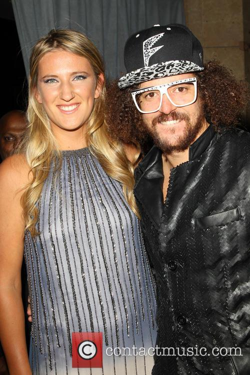 Victoria Azarenka and Redfoo 11