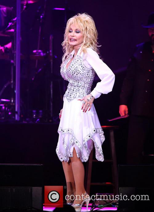 Dolly Parton Performs at Star of The Desert...