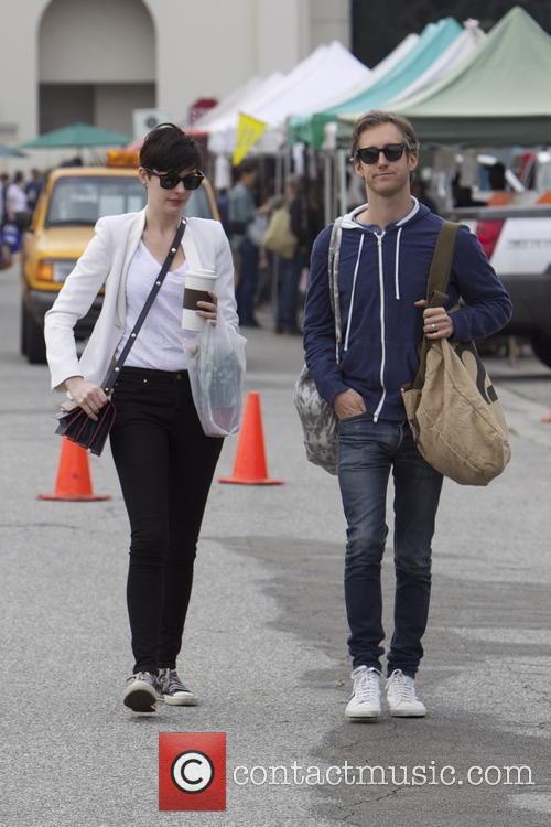 Anne Hathaway and Adam Shulman 14