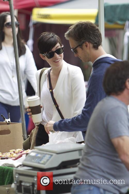 Anne Hathaway and Adam Shulman 23