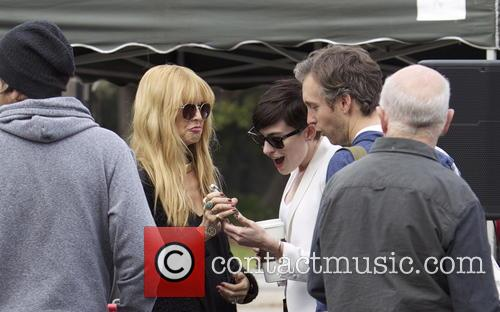 Anne Hathaway, Adam Shulman and Rachel Zoe 2