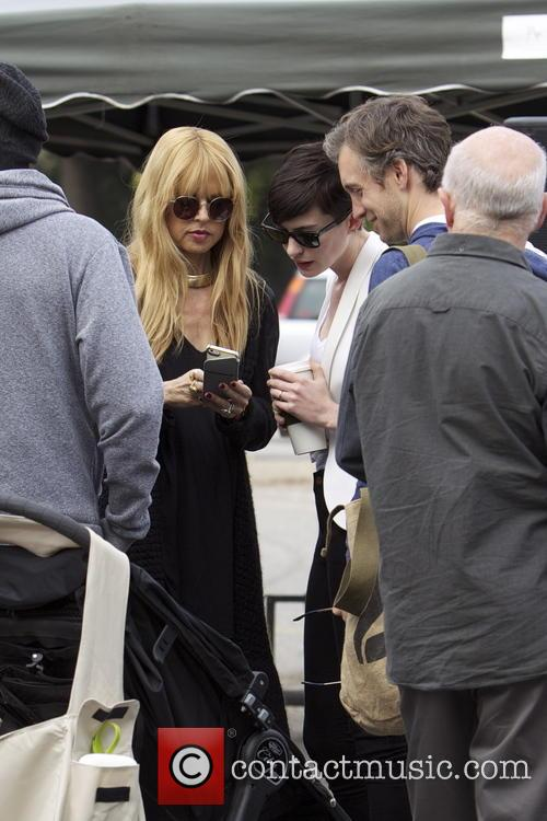 Anne Hathaway, Adam Shulman and Rachel Zoe 7