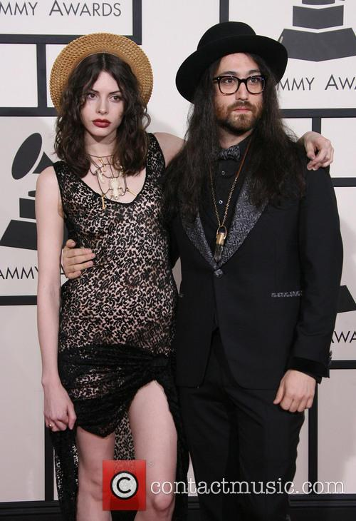 Charlotte Kemp Muhl and Sean Lennon