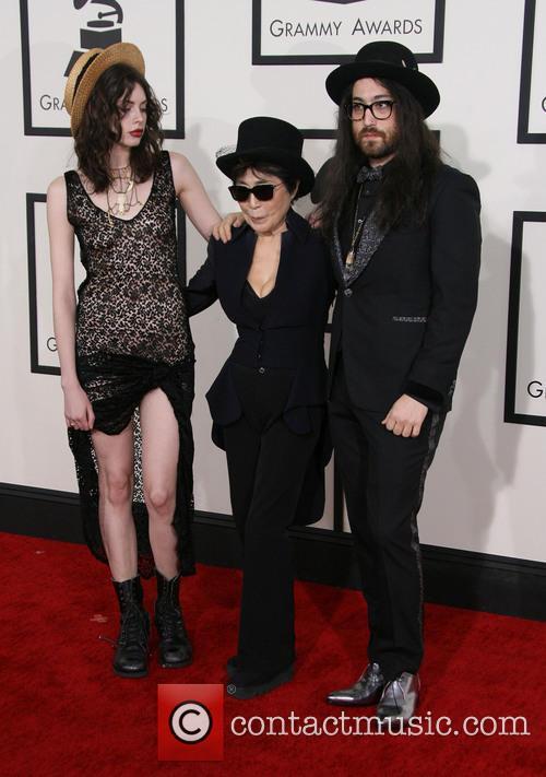 Charlotte Kemp Muhl, Yoko Ono and Sean Lennon 8