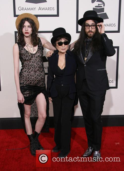 Charlotte Kemp Muhl, Yoko Ono and Sean Lennon 3