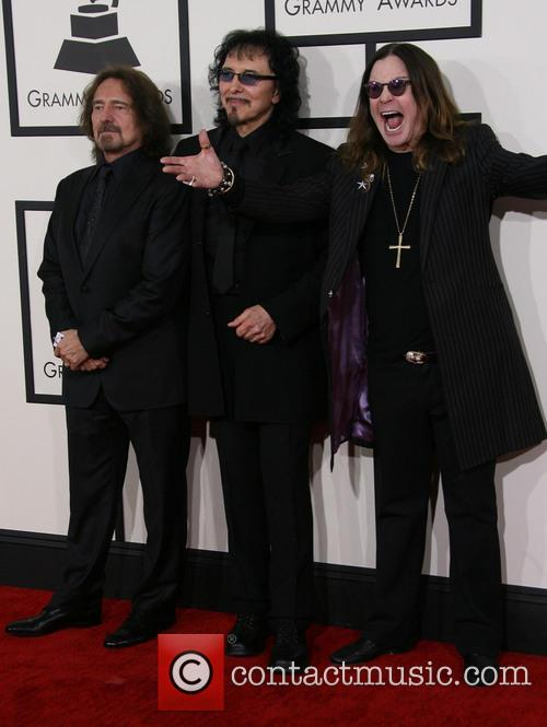 Geezer Butler, Tony Iommi and Ozzy Osbourne 2