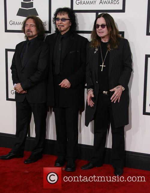 Geezer Butler, Tony Iommi and Ozzy Osbourne 3