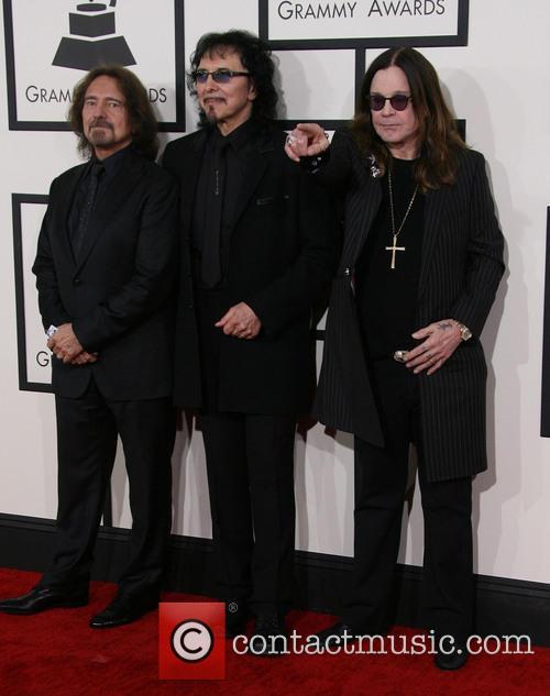 Geezer Butler, Tony Iommi and Ozzy Osbourne 5