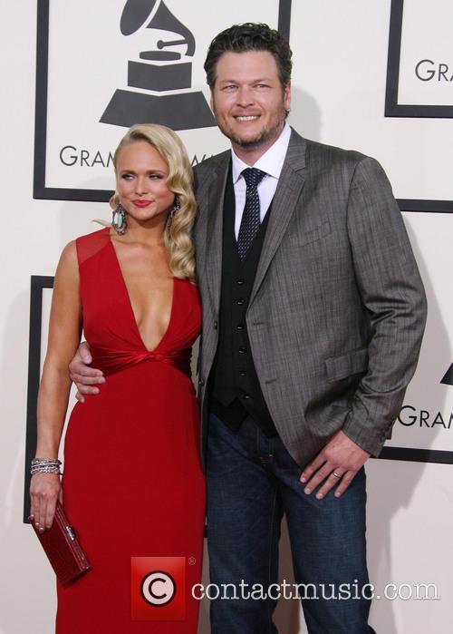 Miranda Lambert, Blake Shelton, Staples Center, Grammy Awards