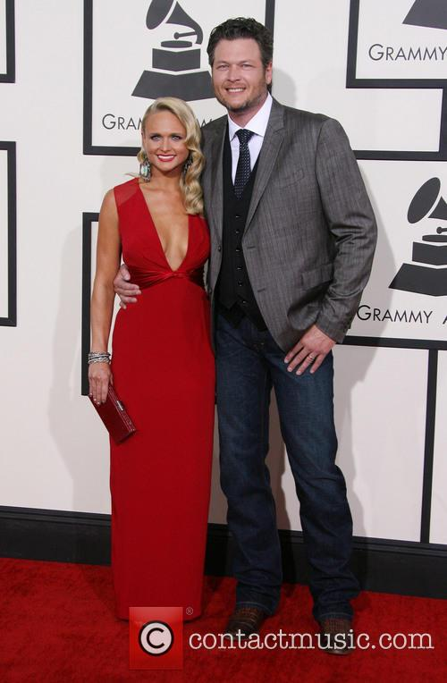 Miranda Lambert, Blake Shelton, Staples Center, Grammy Awards