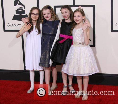 Oona Laurence, Milly Shapiro, Bailey Ryon and Sophia Gennusa 8