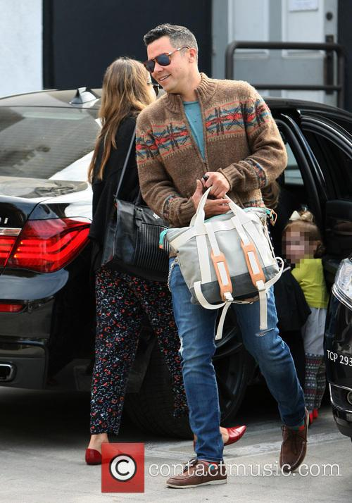 Jessica Alba And Family At Lunch