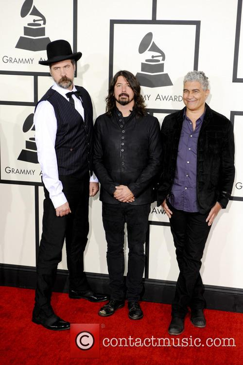 Krist Novoselic, Dave Grohl and Pat Smear 2
