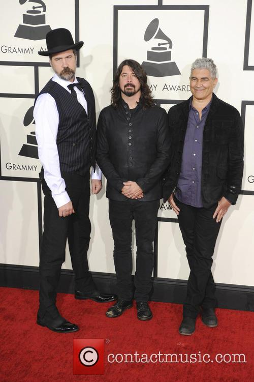 Krist Novoselic, Dave Grohl and Pat Smear 1