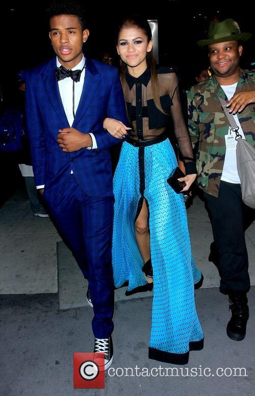 Zendaya Coleman and Trevor Jackson 3