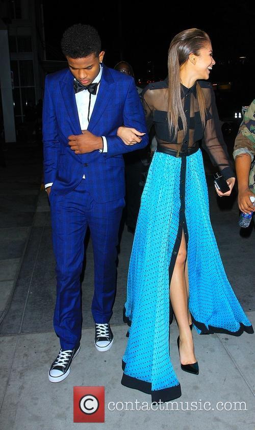 Zendaya Coleman and Trevor Jackson 4