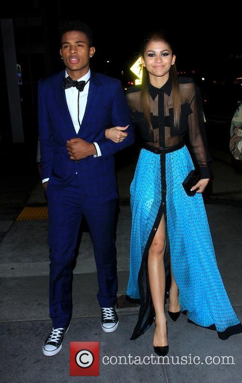 Zendaya Coleman and Trevor Jackson 5
