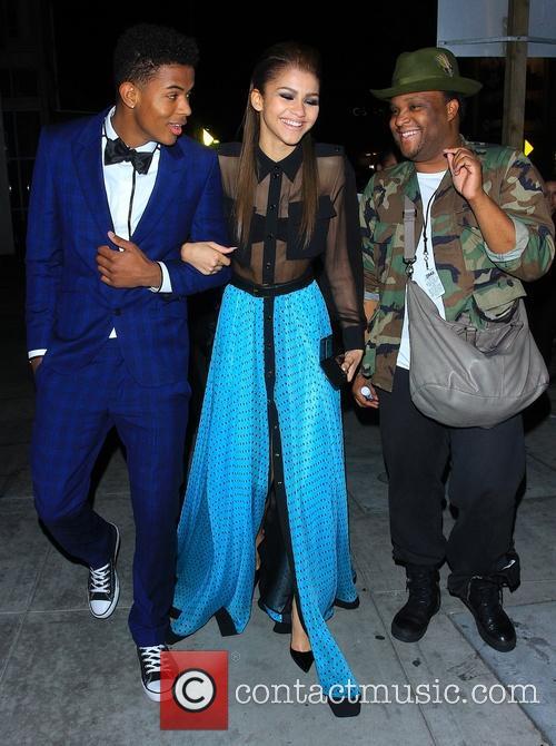 Zendaya Coleman and Trevor Jackson 6