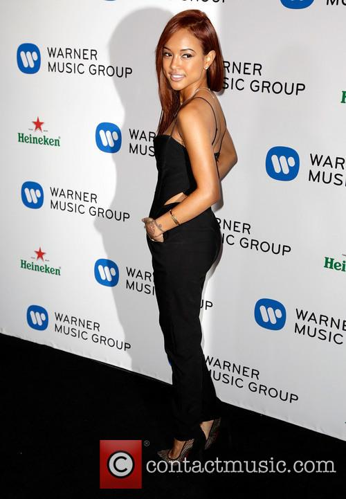 karrueche tran warner music group annual grammy 4042646