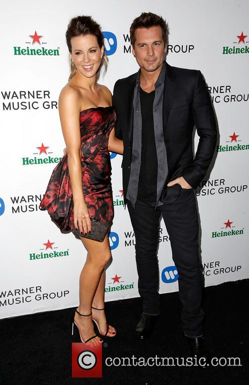 Kate Beckinsale, Len Wiseman, Sunset Tower Hotel, Grammy
