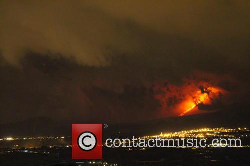 Mount Etna Volcano