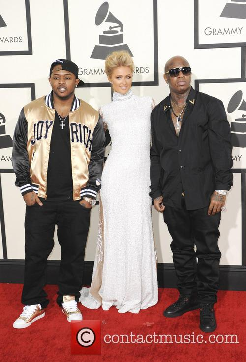 Mack Maine, Paris Hilton and Birdman 2