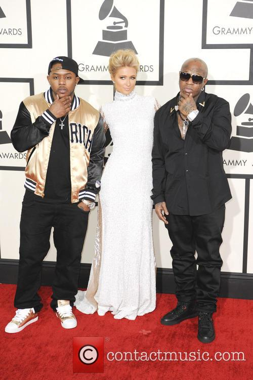 Mack Maine, Paris Hilton and Birdman 1